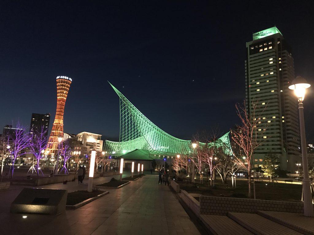 kobe-port-night-view
